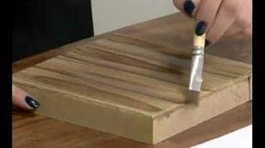 DIY - Caixa efeito madeira e ouro (Marcco Venturelli) - YouTube