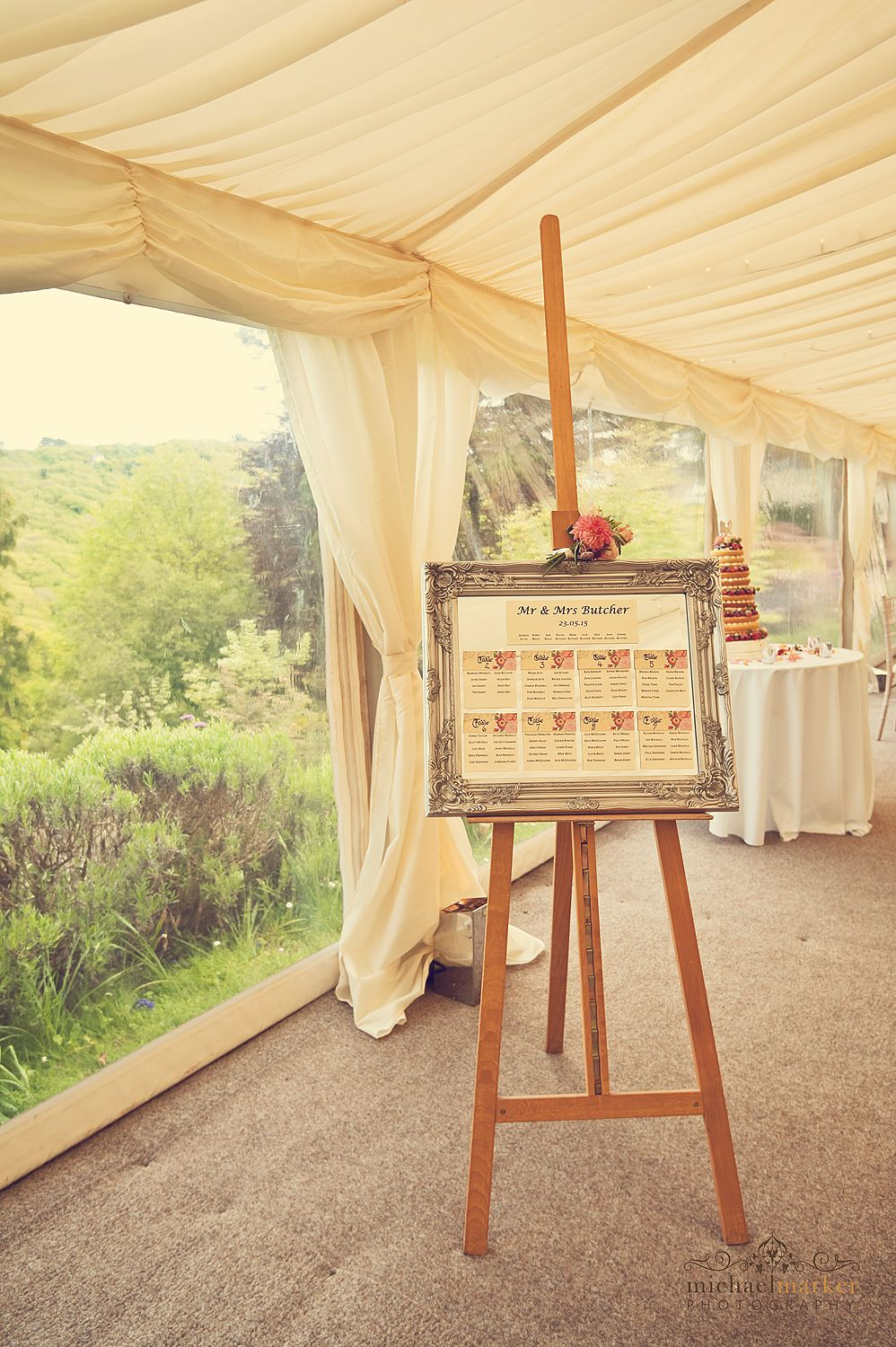 Vintage themed table plan at thorn house wedding in devon wedding vintage themed table plan at thorn house wedding in devon junglespirit Gallery