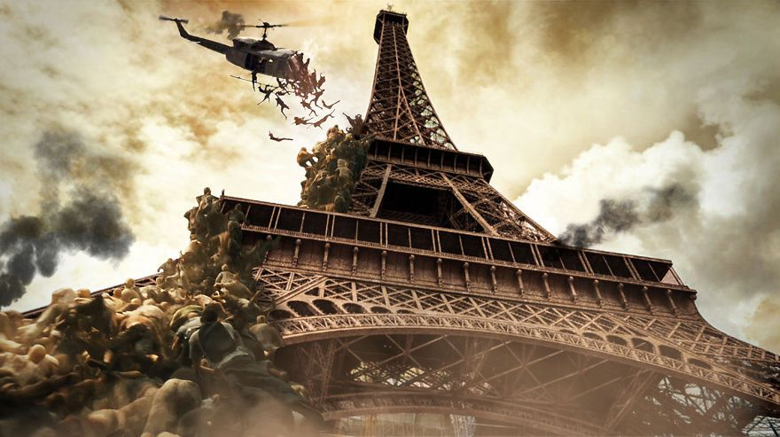 Designers Imagine Famous World Landmarks After A Zombie Apocalypse Apocalipsis De Zombi Zombi Apocalipsis