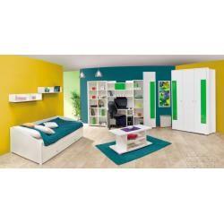 Photo of Habitación juvenil – estante Gabriel 12, color: blanco – 190 x 80 x 38 cm (alto x ancho x profundidad) Muebles fáciles