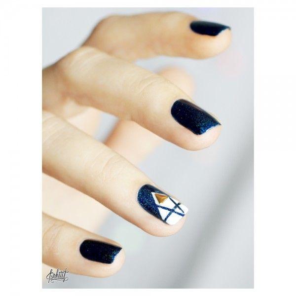 #NailArt - bleu  lagon - #vernis #manucure
