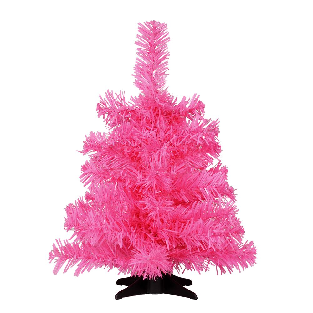 Neon Pink 1ft Christmas Tree With Stand From Paperchase