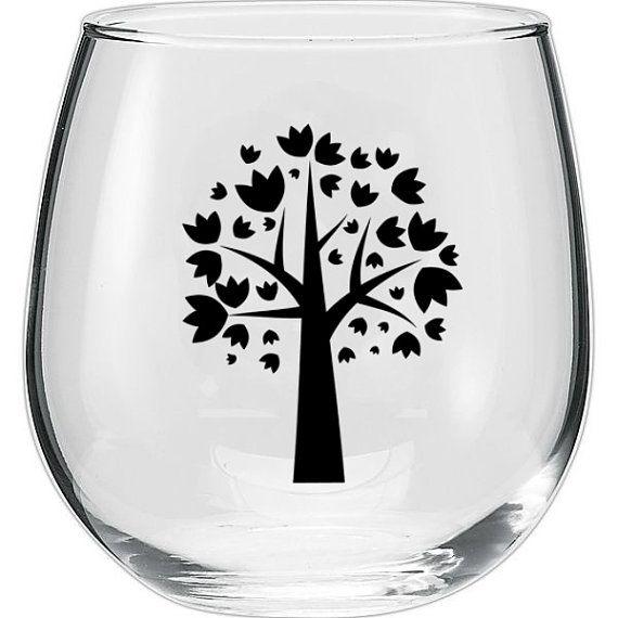 Custom WINE GLASSES Great for wedding favors & by FUSCHIADESIGNS, $14.99