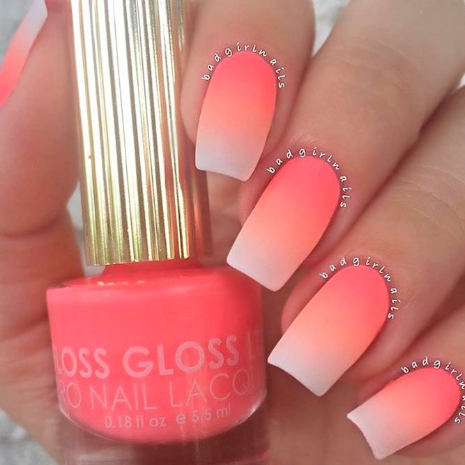 Over 40 Spicy Ombre Nails Transitions To Try | NailDesignsJournal