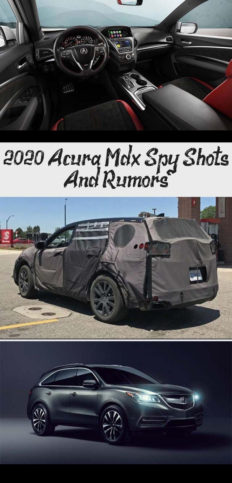 2020 Acura Mdx Rumors Engine
