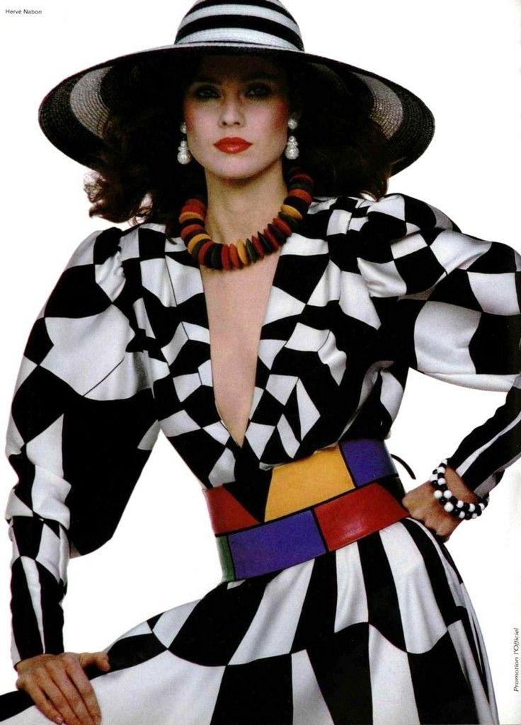 Louis Feraud 1980s в 2020 г. | Наряды, Мода и Высокая мода
