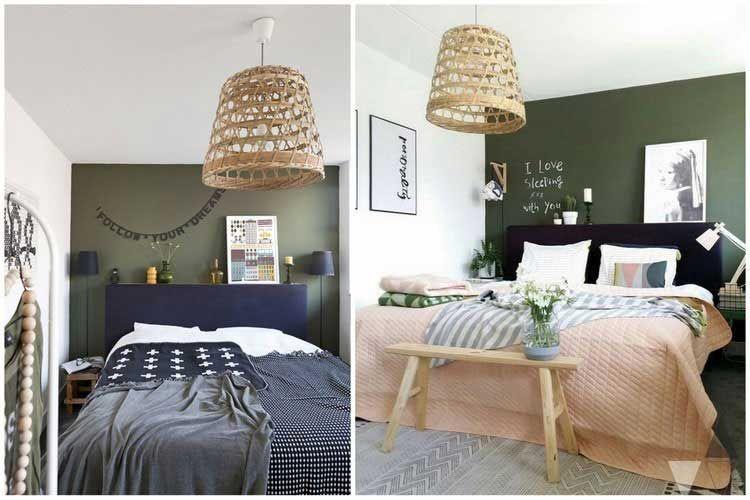 Beautiful Chambre Vert Kaki Contemporary - Matkin.info - matkin.info