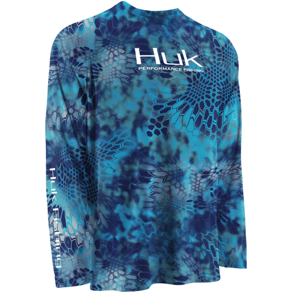 Huk kryptek performance raglan long sleeve fishing for Huk fishing gear