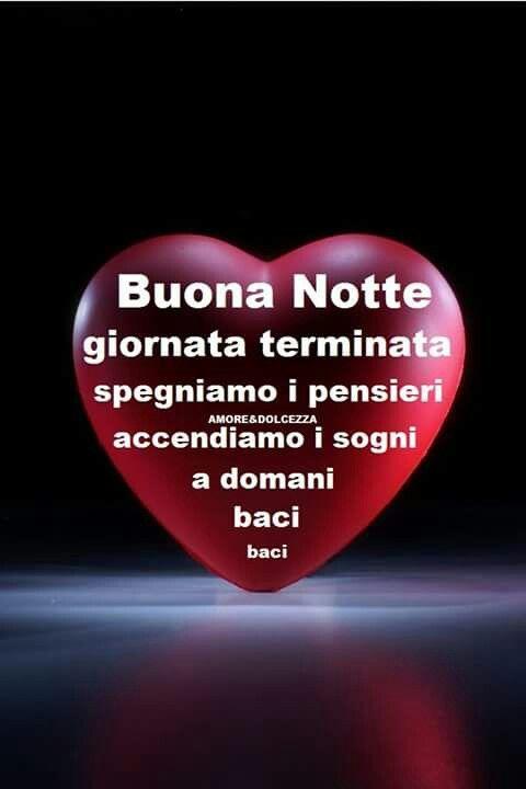 Buonanotte con tutto il nostro cuore bongiorno - Gute besserung italienisch ...