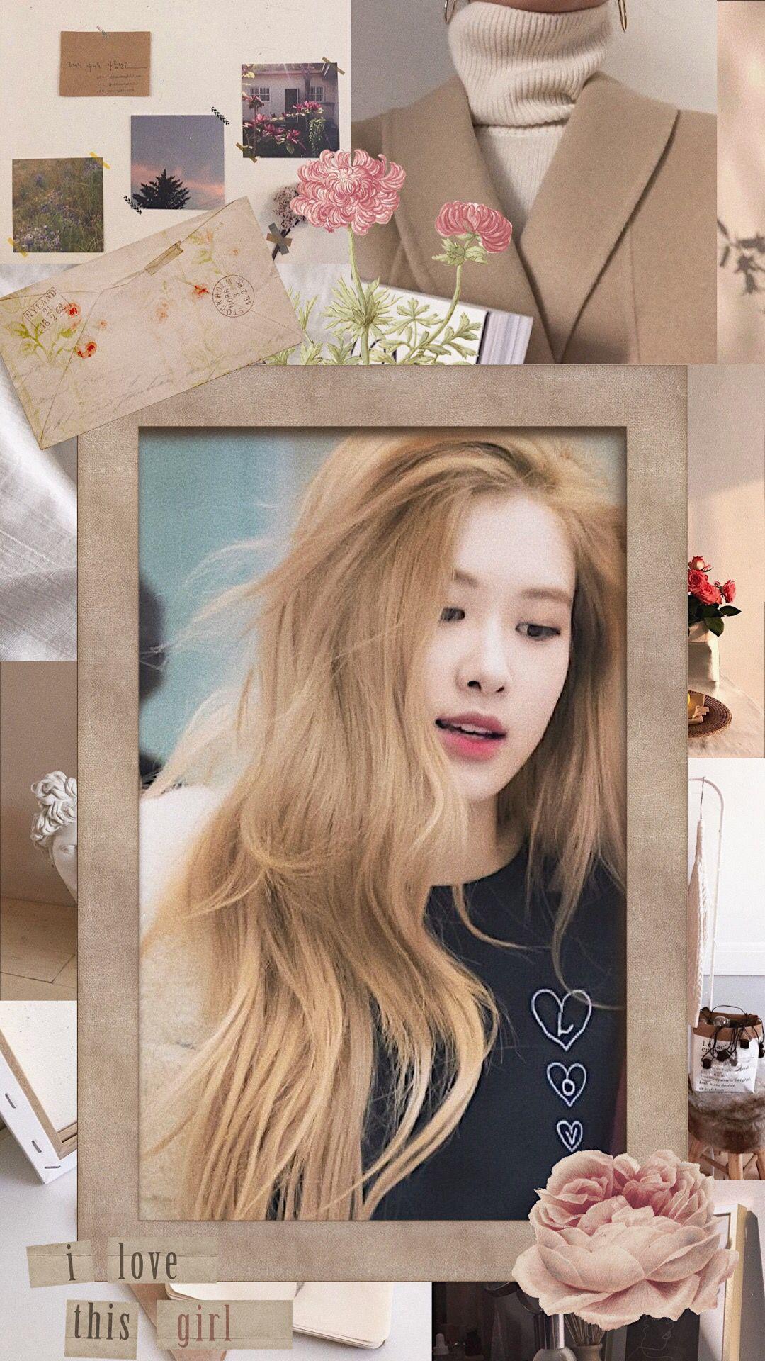 Blackpink Rose Soft Aesthetic Wallpaper Wallpaper Ponsel Gambar