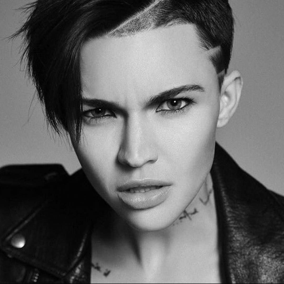 Orange Is The New Black Ruby Rose OITNB Pinterest Ruby - Undercut hairstyle ruby rose