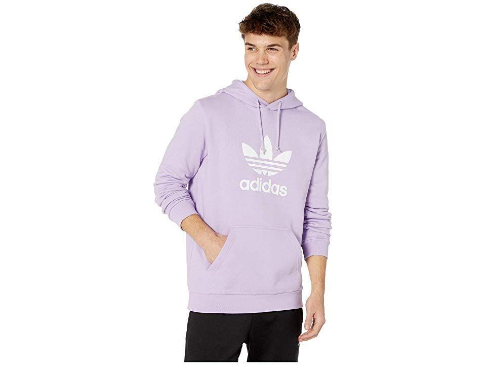 Adidas Originals Trefoil Hoodie Purple Glow