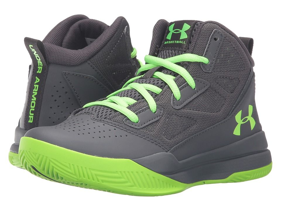 c6f5a73f6 Under Armour Kids UA BGS Jet Mid Basketball (Big Kid) Boys Shoes ...