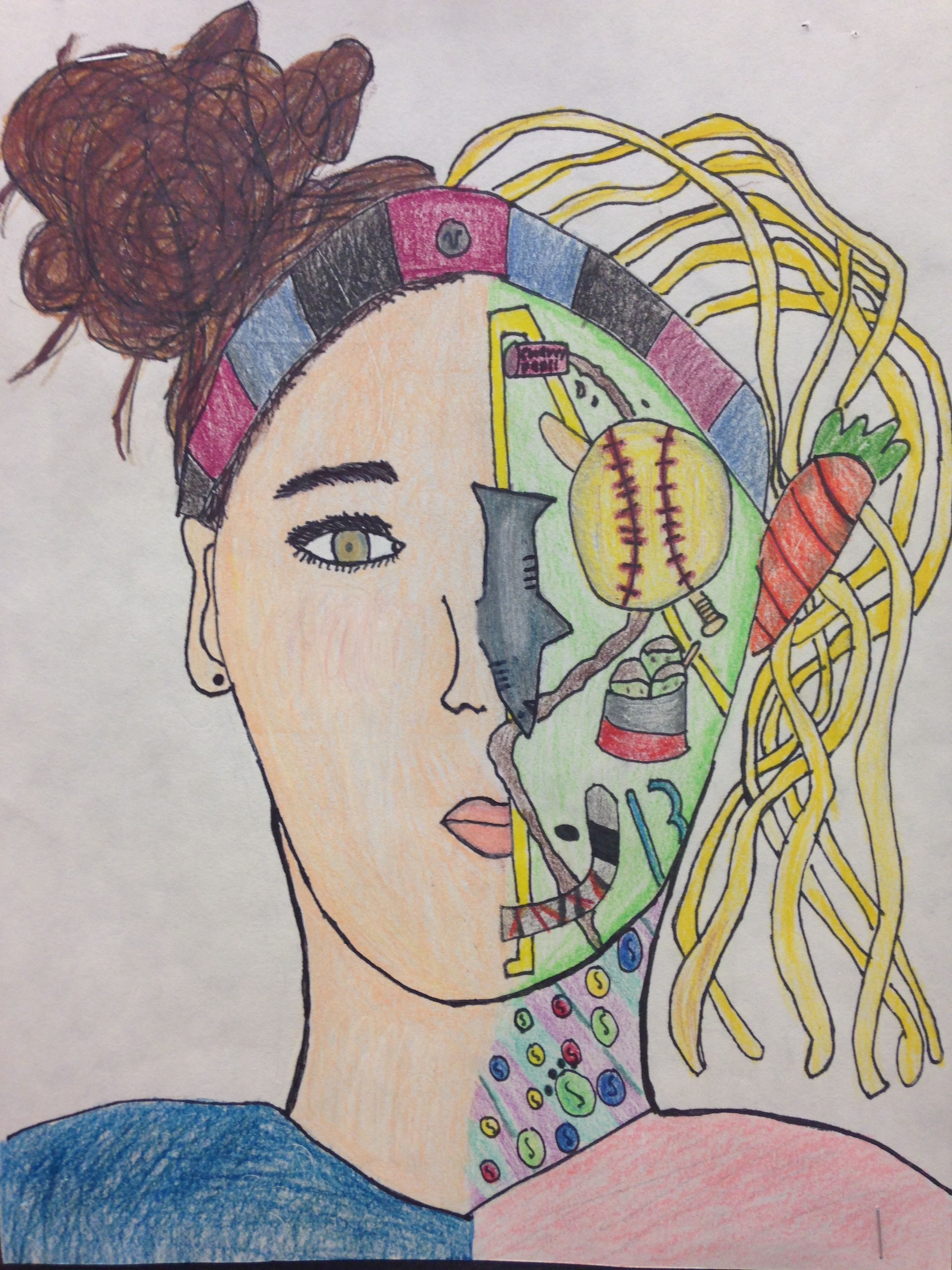 Self Portrait With A Twist 2nd 5th