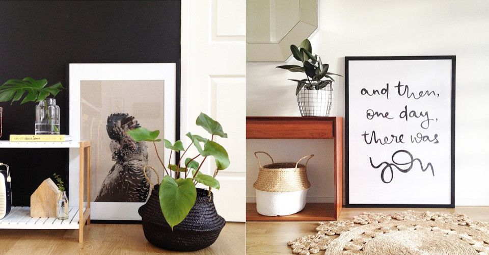Las cestas de fibra vegetal son perfectas para dar calidez a cualquier estancia de vuestra casa. Los detalles en el Blog de decoración Boho Chic Style.