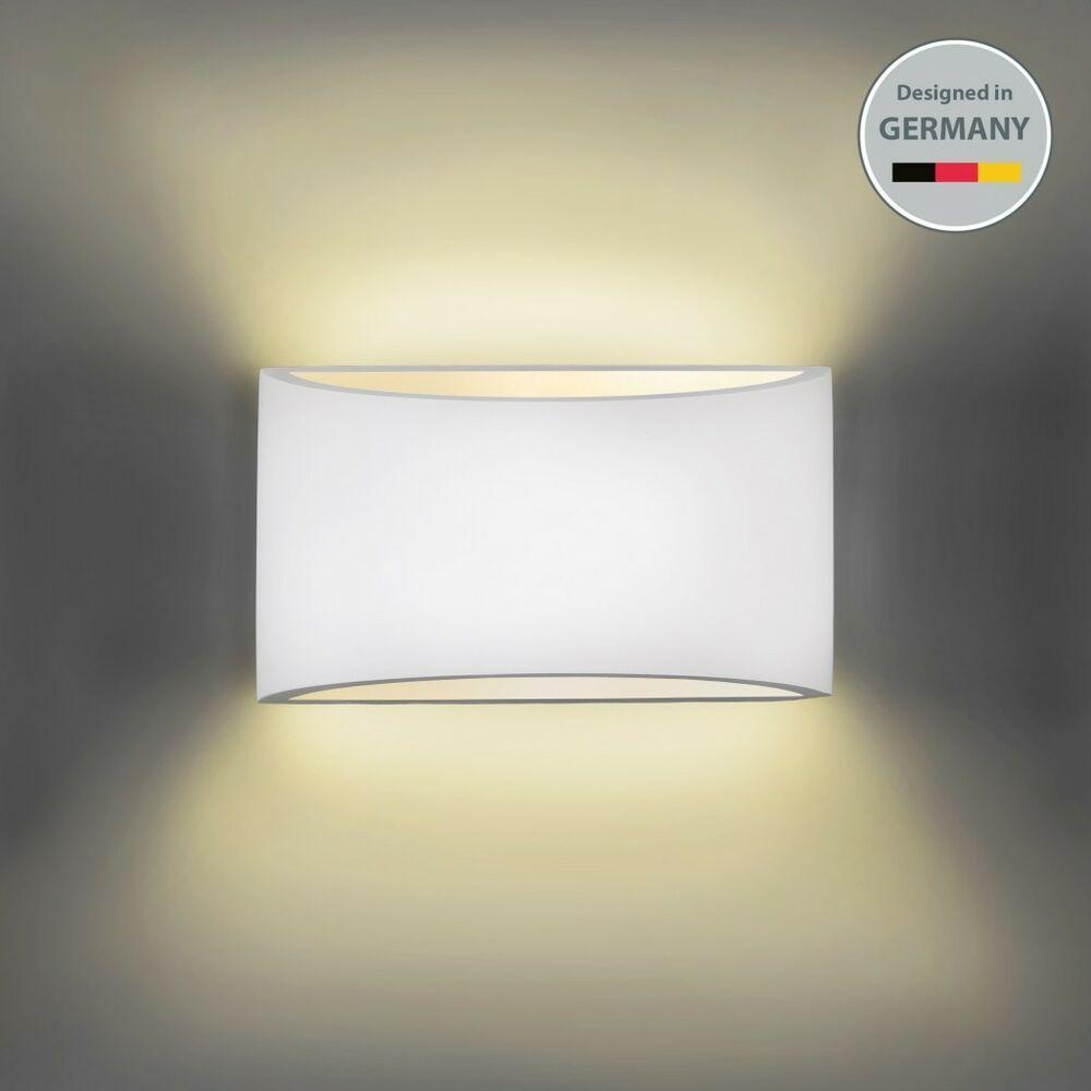 Wandleuchte Wand Lampe Strahler Spot Flur Licht Weiss Wohnzimmer Beleuchtung Led Ebay Wandbeleuchtung Wandleuchte Beleuchtung