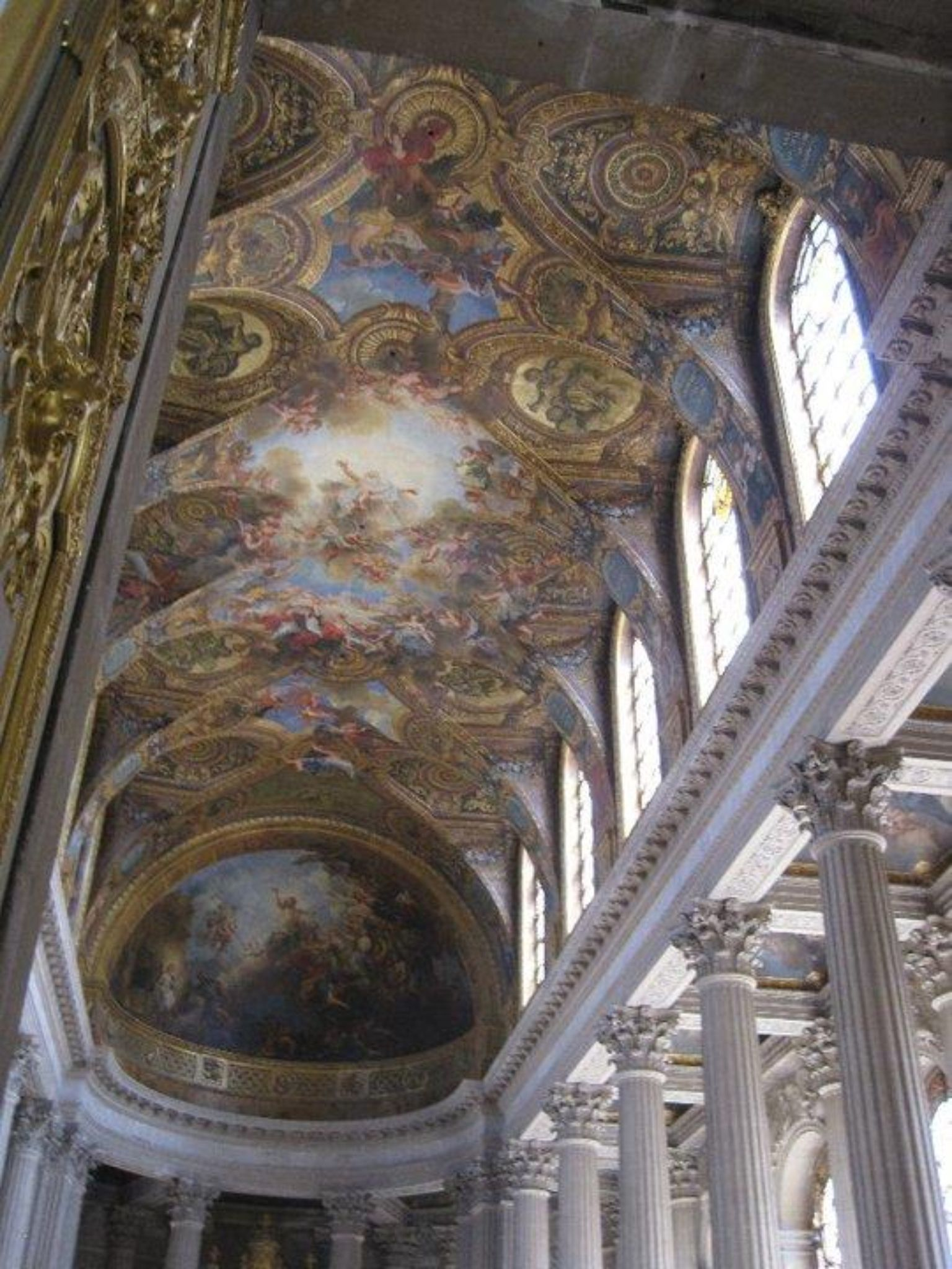 Painted Ceiling Versailles France