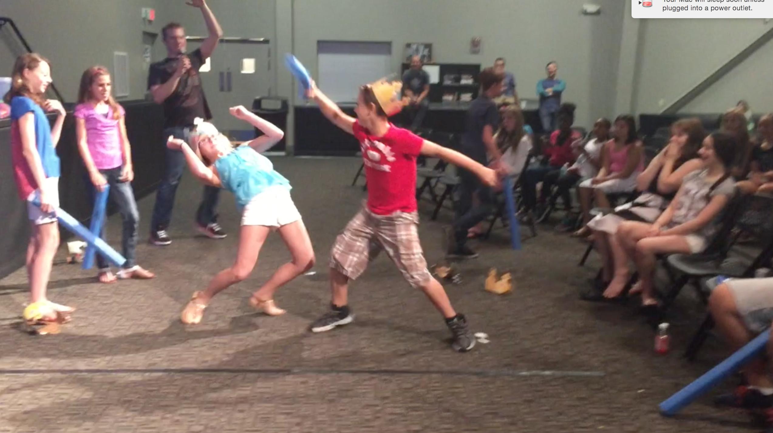 Crown The King Fun Ninja Youth Group Games Youth