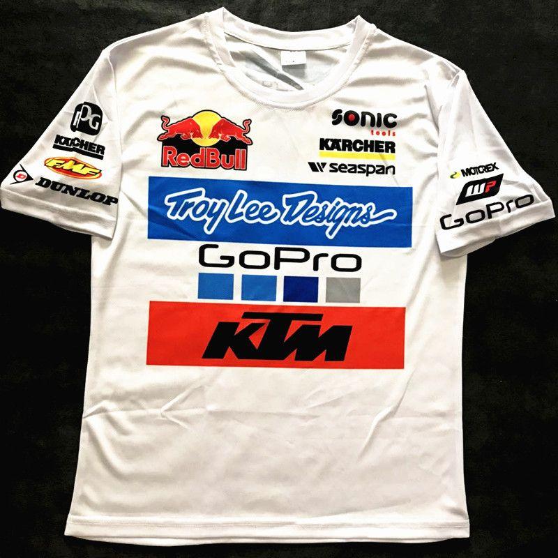 Troylee Karcher Redbull Motogp Men Bike Motocycle Sport Racing Ktm Gopro T Shirt T Shirt Shirts Mens Tops
