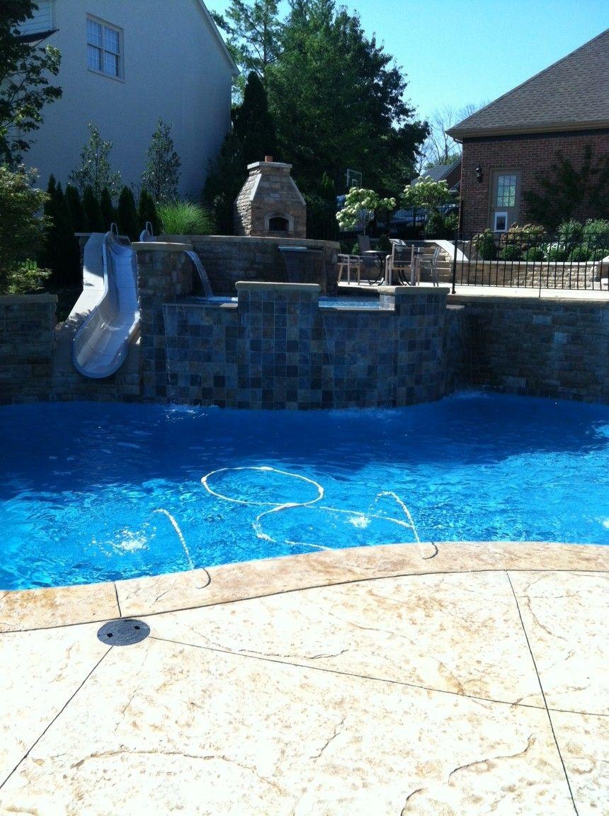 BYOS 2 Custom Slide (MidAmerican Pools • Covington, KY
