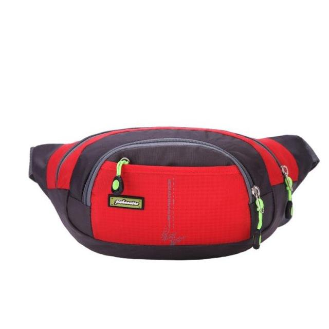dce79451fd6c Sports gym bag Sports fanny pack men Nylon Running Bum Bag Travel Handy  Hiking camping Fanny Waist bag Belt Zip Pouch sport jogging bags sale KO 5 1