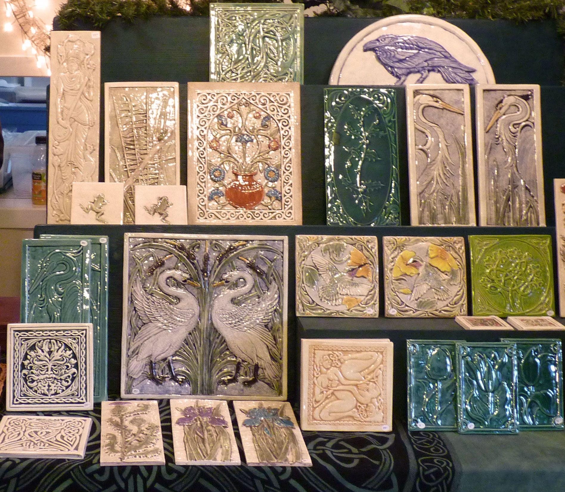 handmade ceramic tiles | Tile Inspires Me | Pinterest | Pottery ...