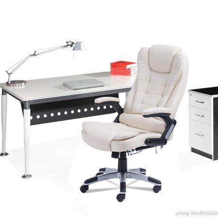 Swivel Gaming Massage Chair Ergonomic Pu Leather Executive Office