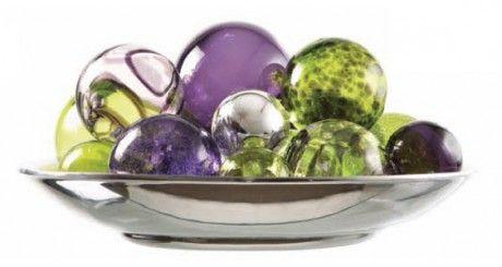 Decorative Glass Balls For Bowls Purplelushious Glass Balls  Love It  Pinterest  Glass