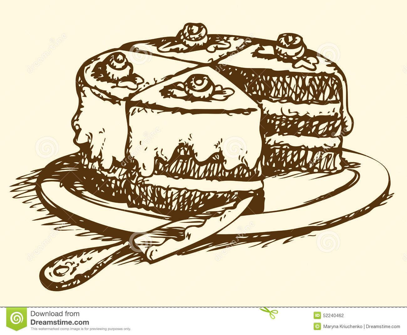 Image result for drawing of slice of cake | drawing | Pinterest for Drawing Cake Slice  56bof