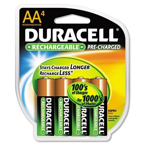 Duracell Coppertop Nimh Pre Charged Rechargeable Battery Aa 4 Pack Sold As 2 Packs Of 4 Total Of 8 Each By Duracell 26 49 Duracell Copperto