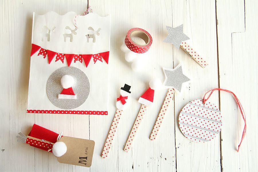 Manualidades de navidad para hacer con ni os blanca - Manualidades navidad para ninos ...