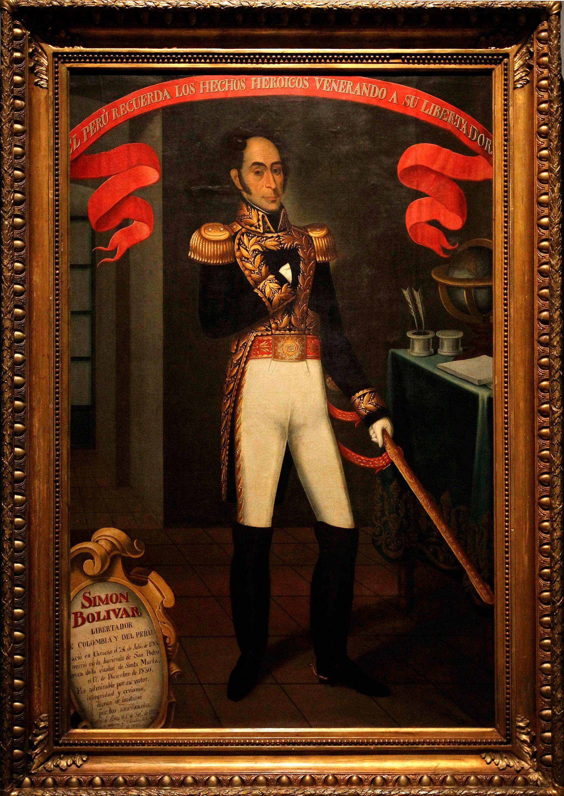 Este Es El Retrato Mas Fiel De Simon Bolivar Segun El Propio