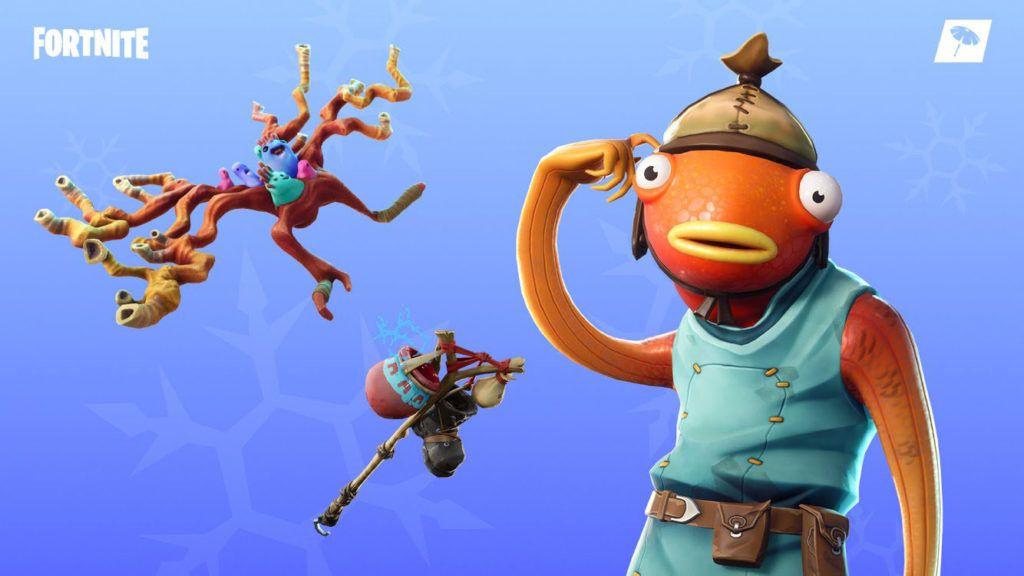 Fishstick Showcase Fortnite Skins Characters Best Gaming Wallpapers
