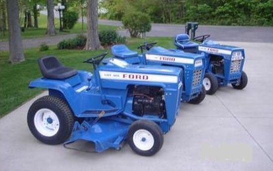 Ford Jacobsen Garden Tractor And Implement Manuals Ebay Garden Tractor Small Garden Tractor Lawn Tractor