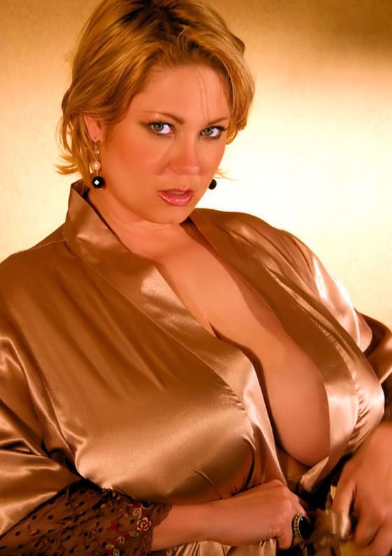 Sexy Samantha Anderson | satin | Satin blouses, Sexy older ...