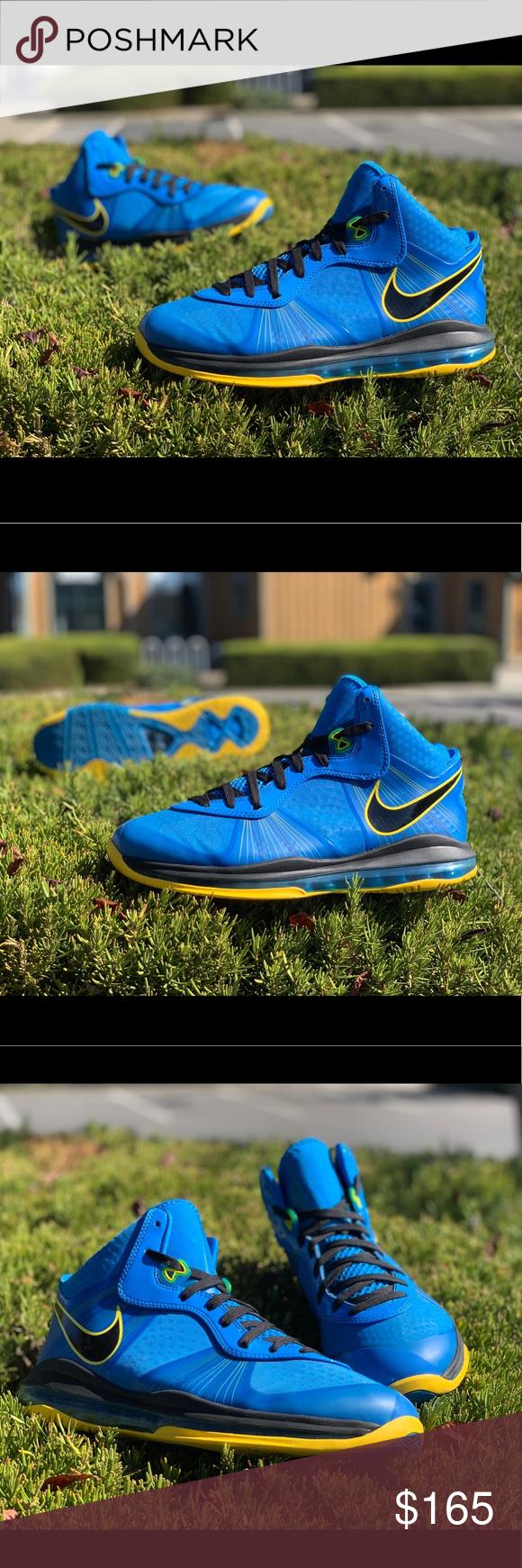 """9662fea55b51 Nike Lebron 8 V2 Entourage Nike Lebron 8 V2 """"Entourage"""" men s size 11. -  Condition (9 10) - minimal heel drag - no box - never used to play  basketball Nike ..."""