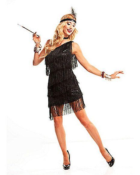 Spirit Halloween Flapper Dress