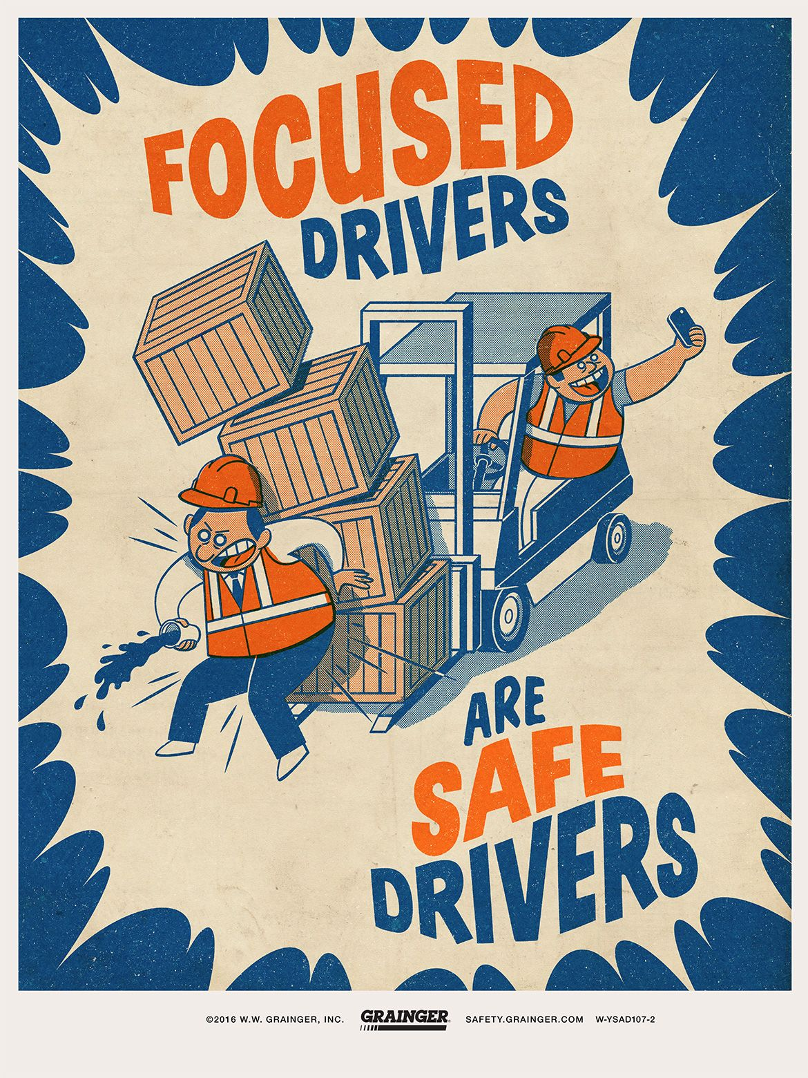 Focused Drivers Are Safe Drivers Safety posters, Safety