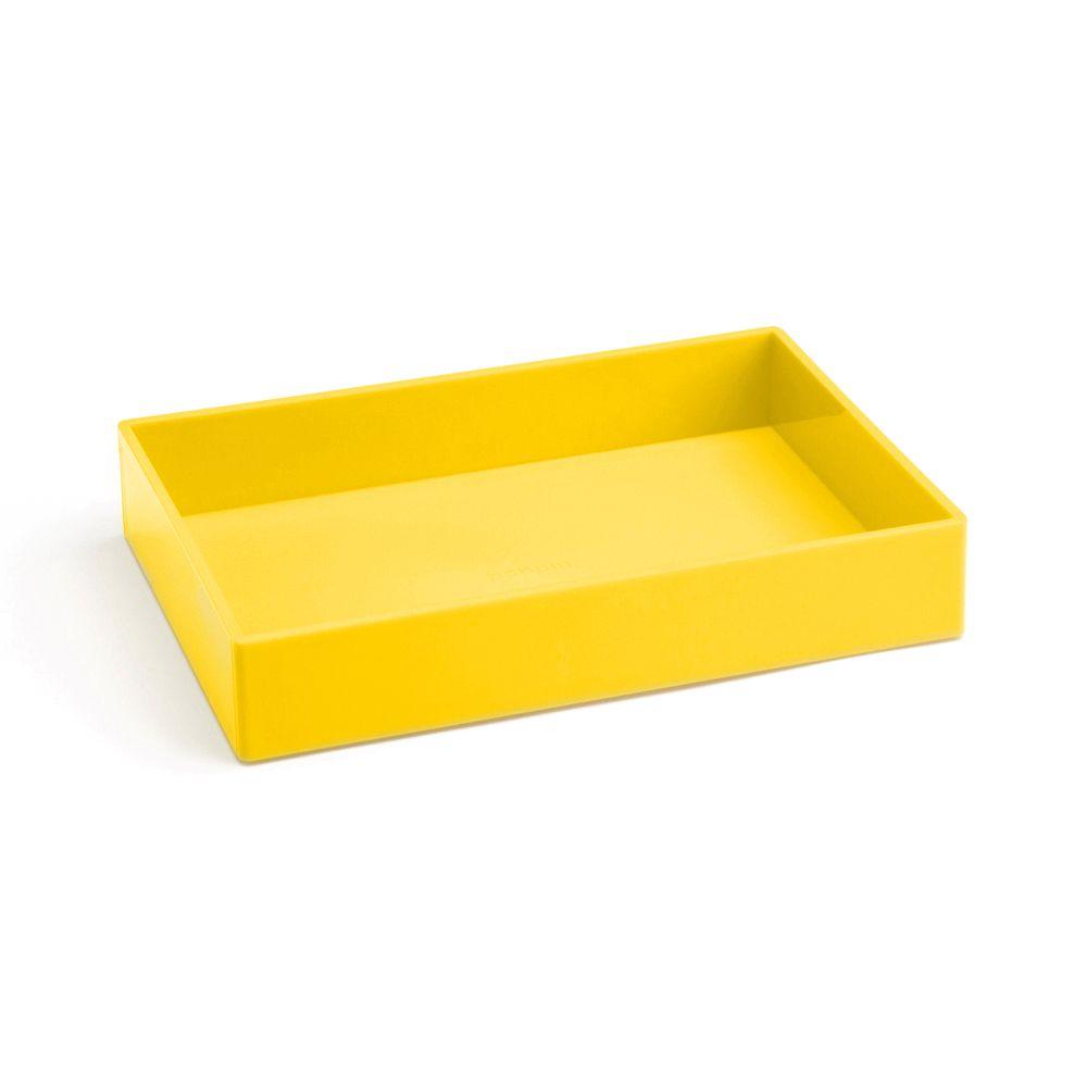 Yellow Medium Accessory Tray   Desk Accessories   Poppinhttp://www ...
