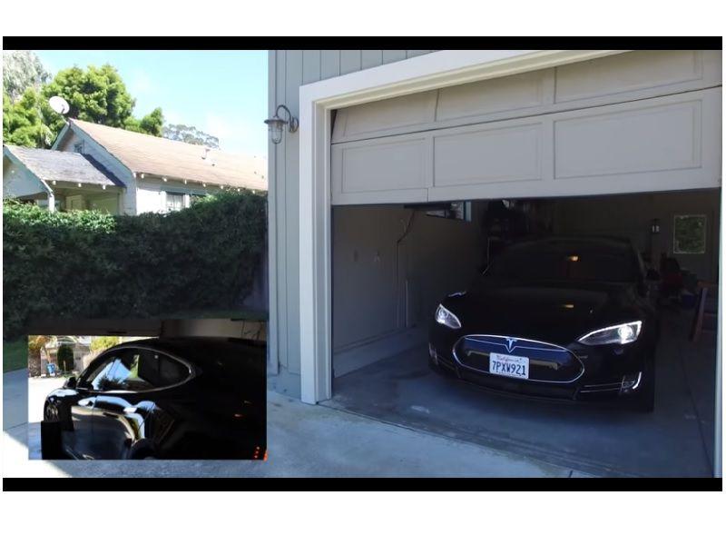 Amazon Alexa Summons A Tesla Model S And It S Just Too Awesome Video Tesla Model S Tesla Model Tesla