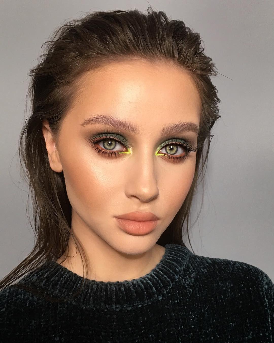 "MAKEUP ARTIST FROM RUSSIA on Instagram ""NEON MOOD"