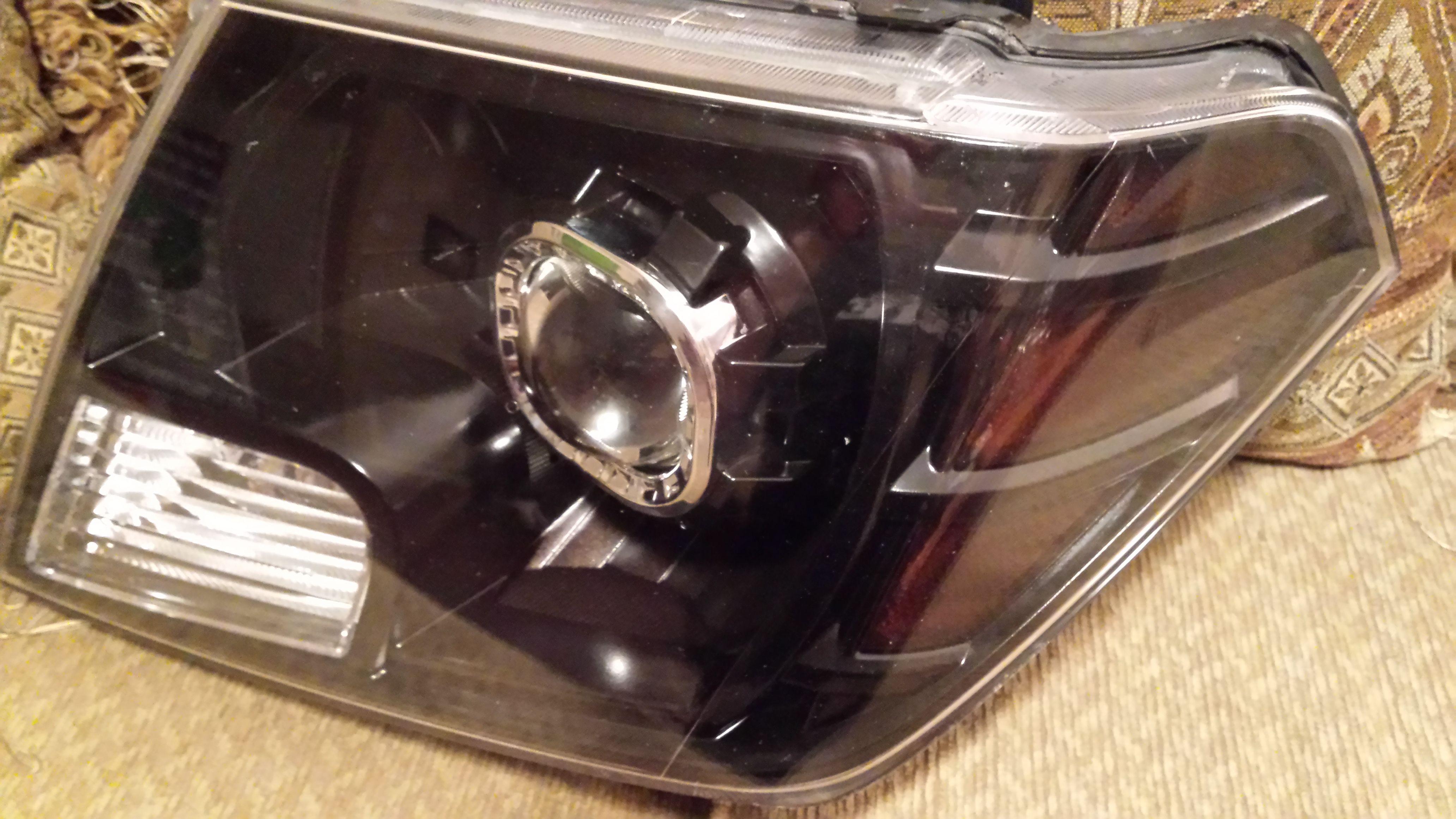 My Custom Headlight Assembly Build Bi Xenon Morimoto
