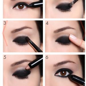 easy shadow  smoky eye makeup smokey eye tutorial eye