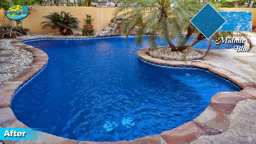 Pool Resurfacing Miami Diamond Brite Experts Aqua1pools Com Pool Resurfacing Pool Colors Pool Finishes