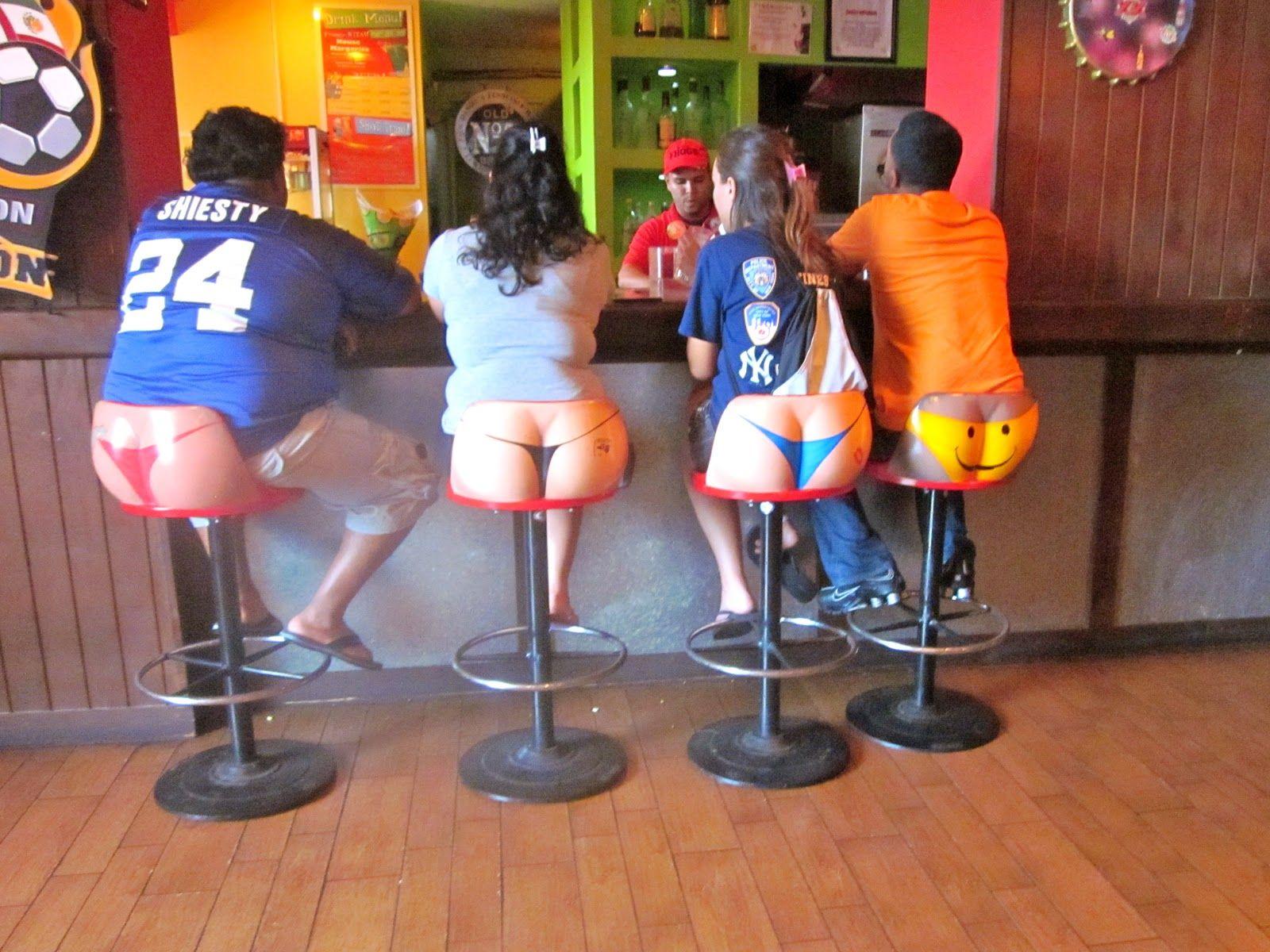 Womens legs bar stools