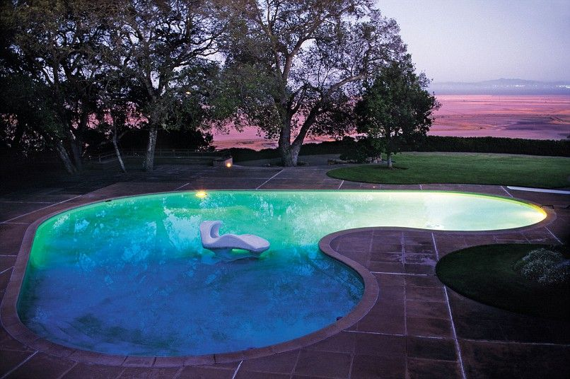 Great Gardens Of America In Pics Sonoma California Kidney Shaped Pool And Swimming Pools