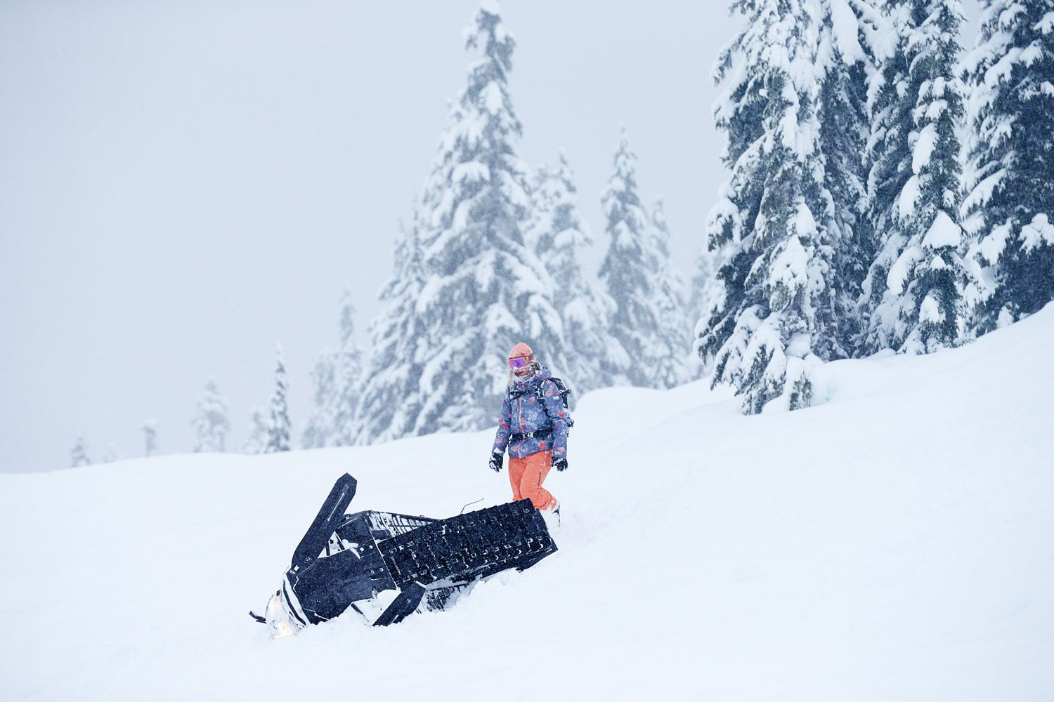 From one adventure to the next. Robin Van Gyn in Whistler BC #ROXYsnow