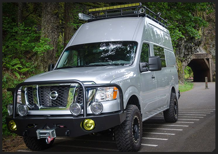 Kodiak by Outside Van Nissan NV 4x4 Conversion Cargo