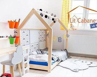 Bett Montessori APACHE Tipi Hütte X Etsy Bett ideen