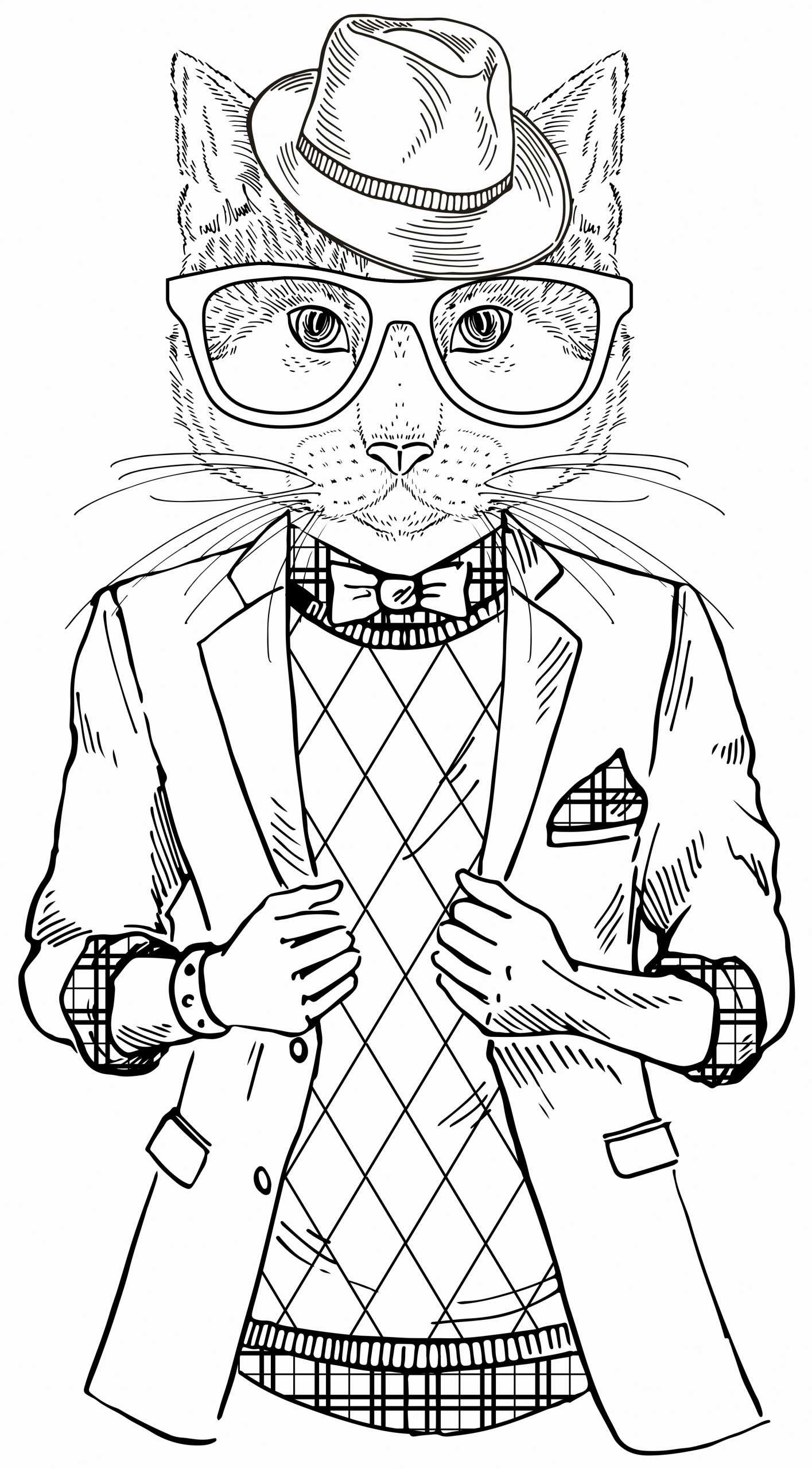Cool Cat Coloring Pages For Kids To Print Out Cool Coloring Pages Cat Coloring Book Cat Coloring Page